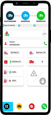 driver app dashboard