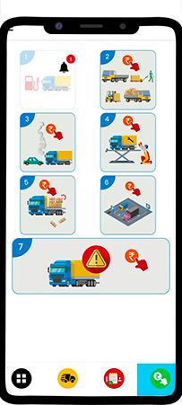 Driver app vehicle