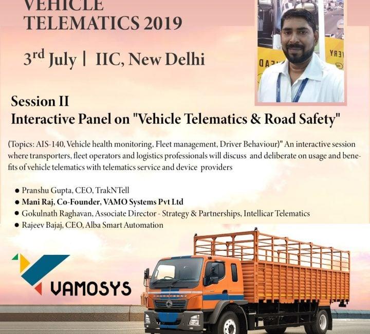 vamosys-vehicle-telematics-2019-iic-delhi